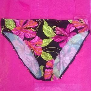 NWT Spiegel Swim Floral Bottoms - Size 14
